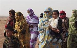 El sufrimiento de las mujeres en los campamentos de Tinduf.