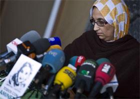 El sàhara : El enigma Aminatu Haidar.