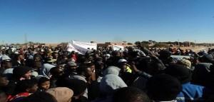 Argelia: violenta represión de las protestas contra el gas de esquisto