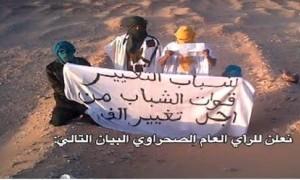 Los jóvenes disidentes saharauis de Tinduf piden protección a los EE.UU.