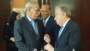 Los milicianos del Polisario van próximamente a salir de Guerguerat