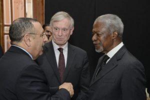 Horst Köhler se hace cargo oficialmente de la cuestión del Sahara Occidental