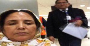 Una separatista del Polisario cojida en Lima por usurpación de funcion